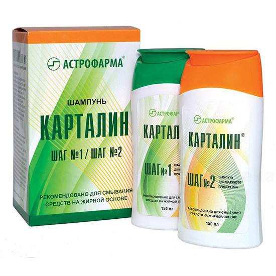 Kartalin Shampoo Step 1 ja Step 2
