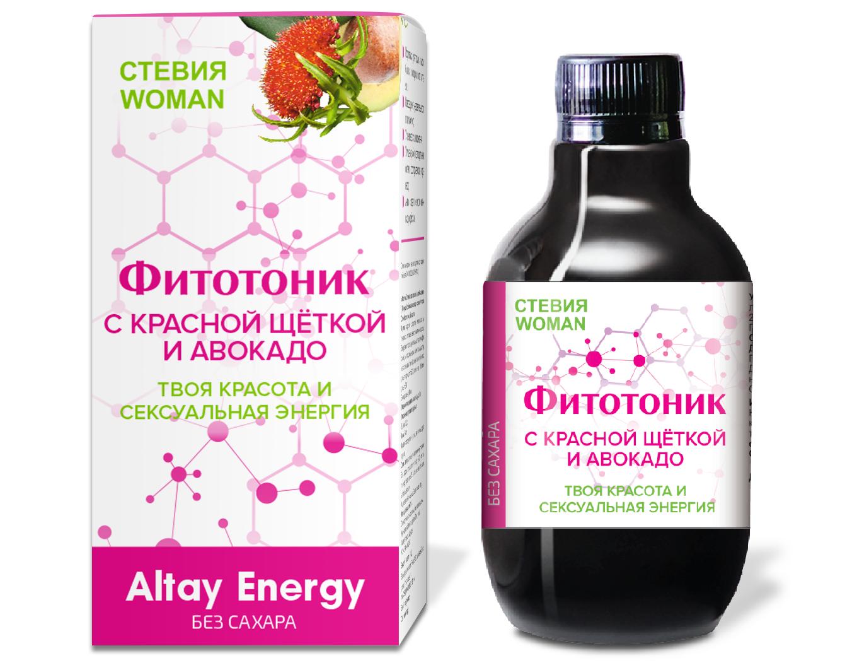 "Taimesiirup ""Fitotonic Stevia Woman"""